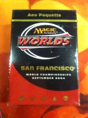 2004 Aeo Paquette World Champ Deck